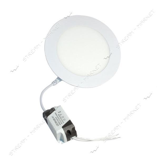 Светильник NEOMAX LED Down Light NX209C 9W алюминий 6000К холодный, врезной, круг