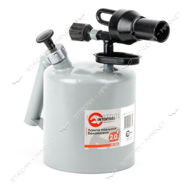 INTERTOOL GB-0033 Лампа паяльная бензиновая 2.0л