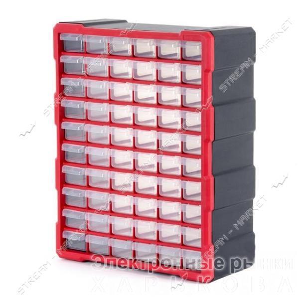 INTERTOOL BX-4016 Органайзер 19', 60 секций - Ящики, сумки инструментальные на рынке Барабашова