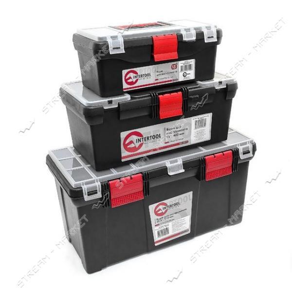 INTERTOOL BX-0003 Комплект ящиков для инструмента3 шт.13', 16', 20.5 дюймов, BX-0125, BX-0016, BX-0205