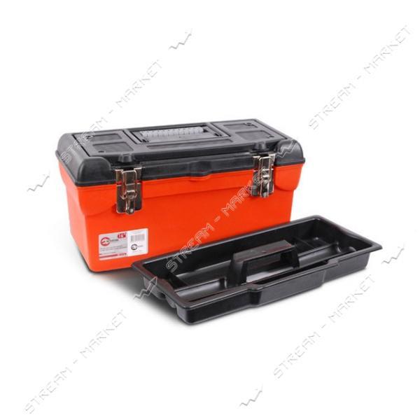 INTERTOOL BX-1116 Ящик для инструмента с металлическими замками 16' (396*216*164 мм)