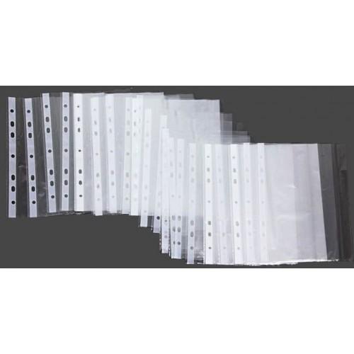 """Файл (папка для паперу) А5 """"Leader"""", 30мкм, 100 шт."""