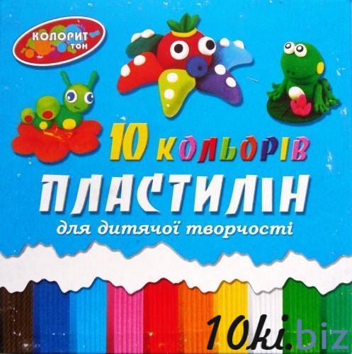 """Пластилін """"Колорит"""", 10 кольорів, 220г купить в Кировограде - Пластилин и масса для лепки с ценами и фото"""