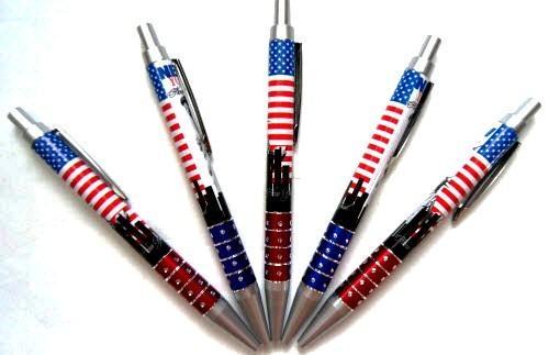 Ручка шариковая автоматическая Patriotic Day 8-311 синяя (1 шт.)