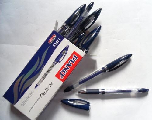 Ручка гелевая PIANO PG-2258 синяя (12 шт.)