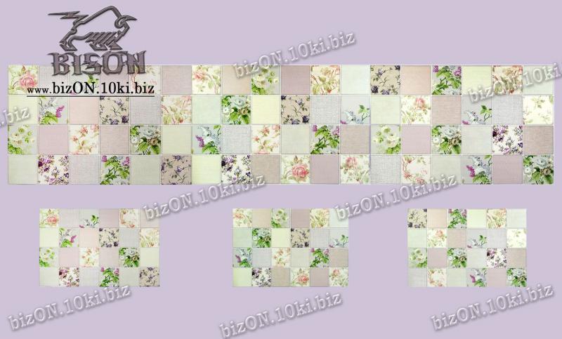 Фото Листовые панели ПВХ Панно «ГАРМОНИЯ» (3 листа в комплекте)   Листовые панели ПВХ