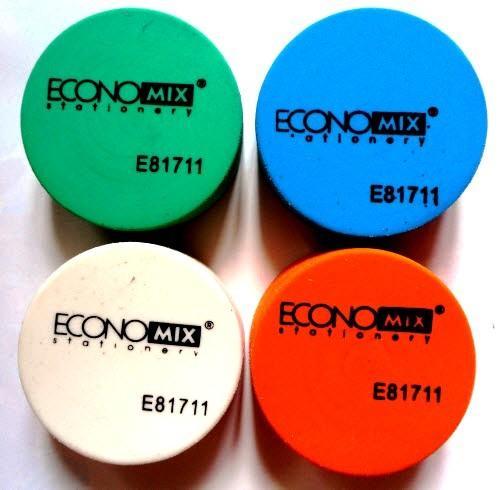 Ластик круглый - Economix E81711 (цвет в ассортименте)
