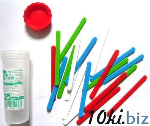 Лічильні палички №20 пластикові, різнокольорові, 20 штук у пластмасовій тубі купить в Кировограде - Развивающие и обучающие игрушки с ценами и фото