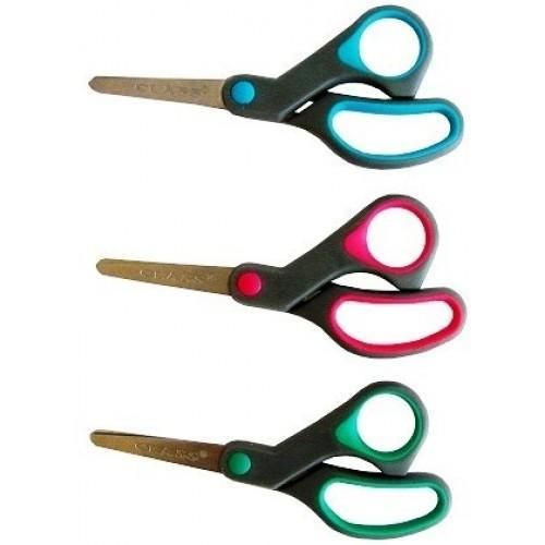 Ножиці дитячі (прогумовані ручки, колір в асортименті)
