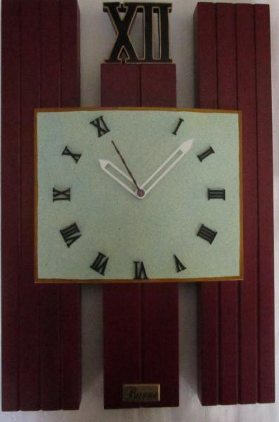 Часы настенные из дерева - Модерн