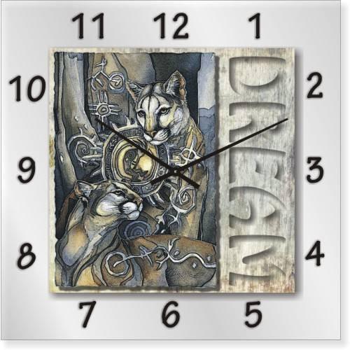 Часы настенные - DREAM - мечта ( немецкий механизм)