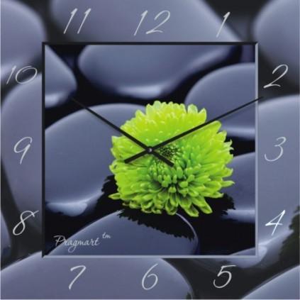 Часы настенные - Камни (немецкий механизм)до45- 50см