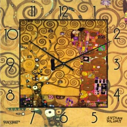Часы настенные - Дерево жизни( Климт)(немецкий механизм)до45- 50см