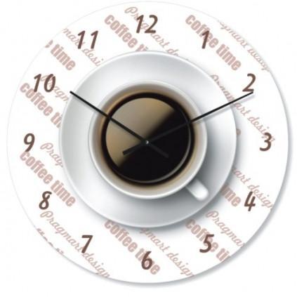 Часы настенные из стекла - (немец.механизм)ассортимент