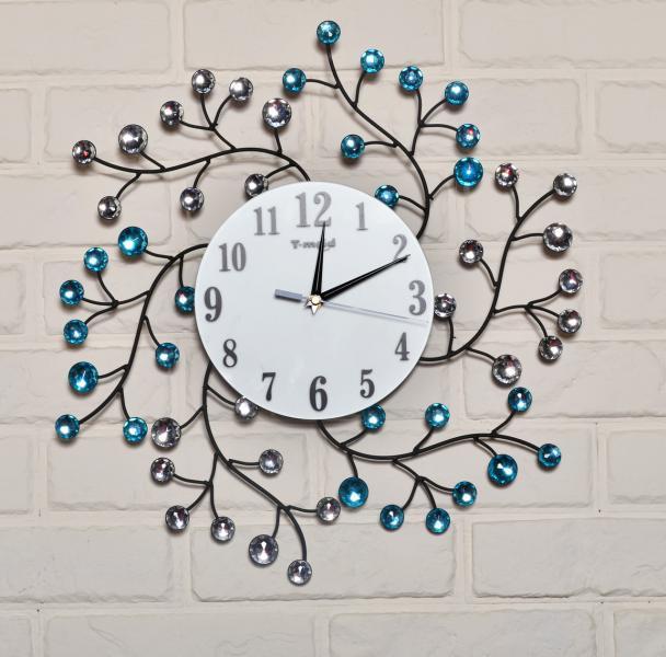 Часы настенные из металла  T-m 50см(качество)