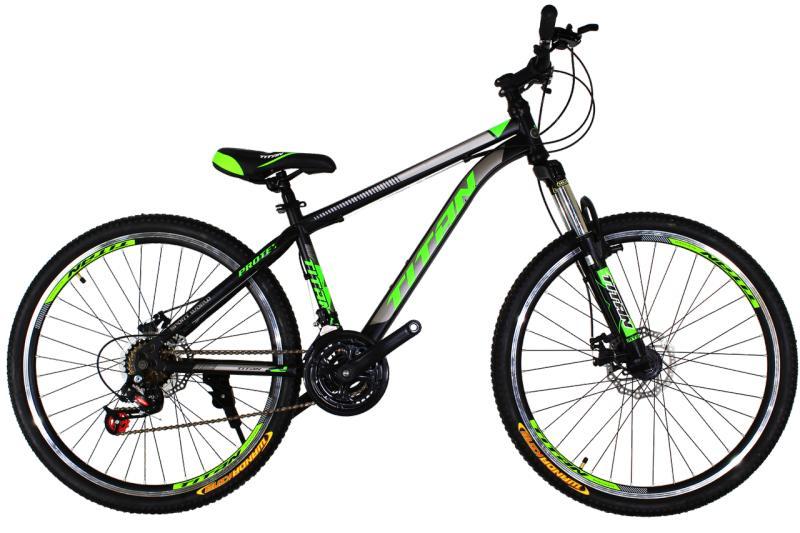 """Titan Protey 26"""" V2 Black-Green-Black"""