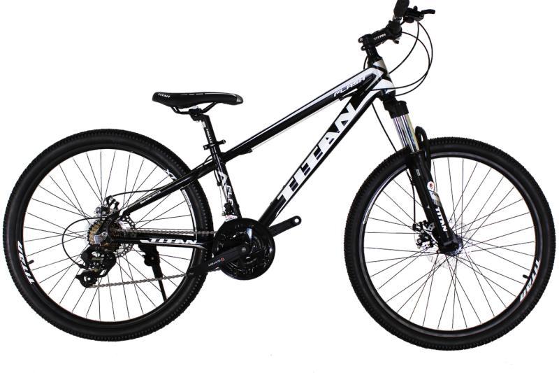Детский велосипед Titan Flash 26 Black-White-Gray