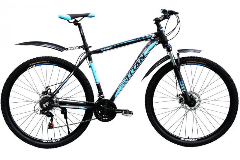 "Горный велосипед Titan Scorpion 29"" Black-Blue-White"