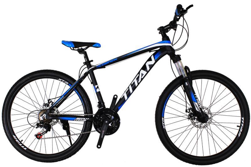 "Горный велосипед Titan Scorpion 26"" Black-White-Blue"