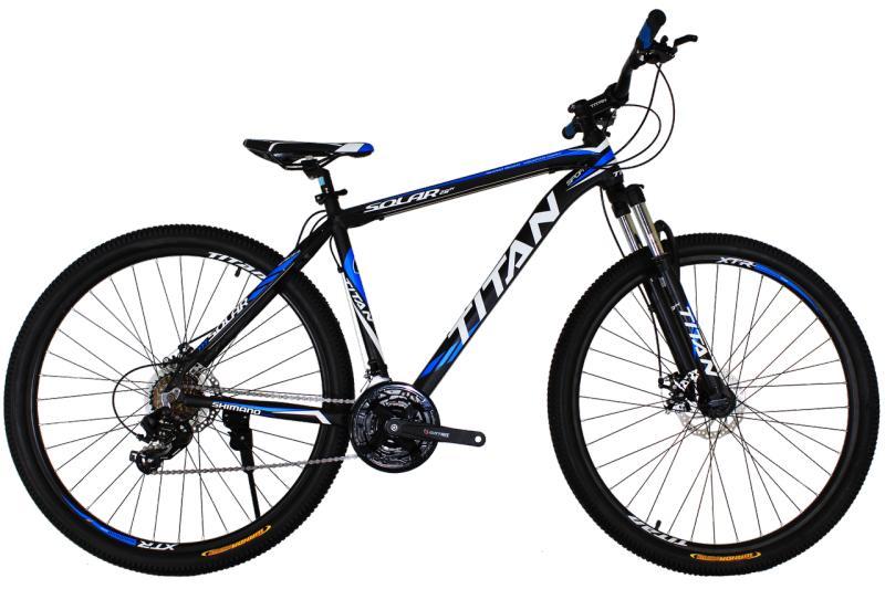 """Горный велосипед Titan Solar 29"""" Black-Blue-White"""