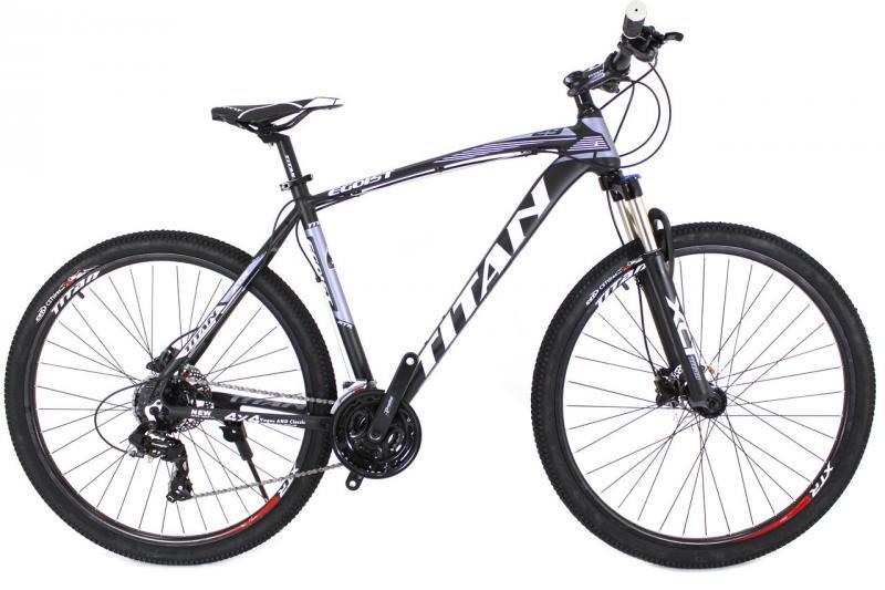 "Горный велосипед Titan Egoist 29"" Black-Gray-White"