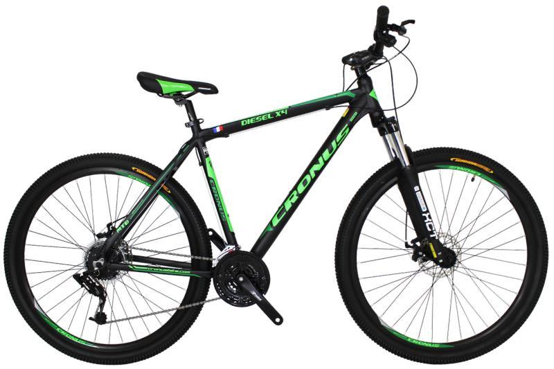 "Горный велосипед Cronus Diesel X4 29"" Black-Green"