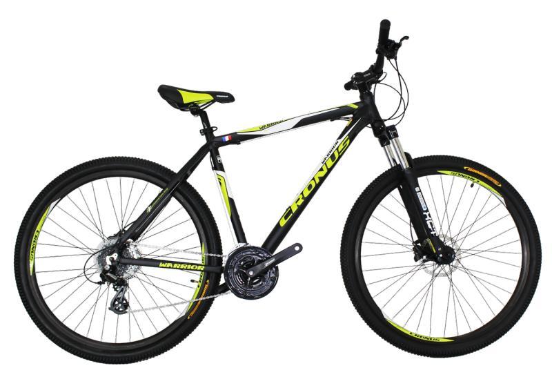 """Горный велосипед Cronus Warrior 29"""" Black-Yellow"""