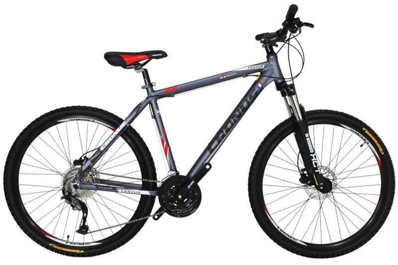 """Горный велосипед Cronus Fantom 27.5"""" Gray-Red-Black"""