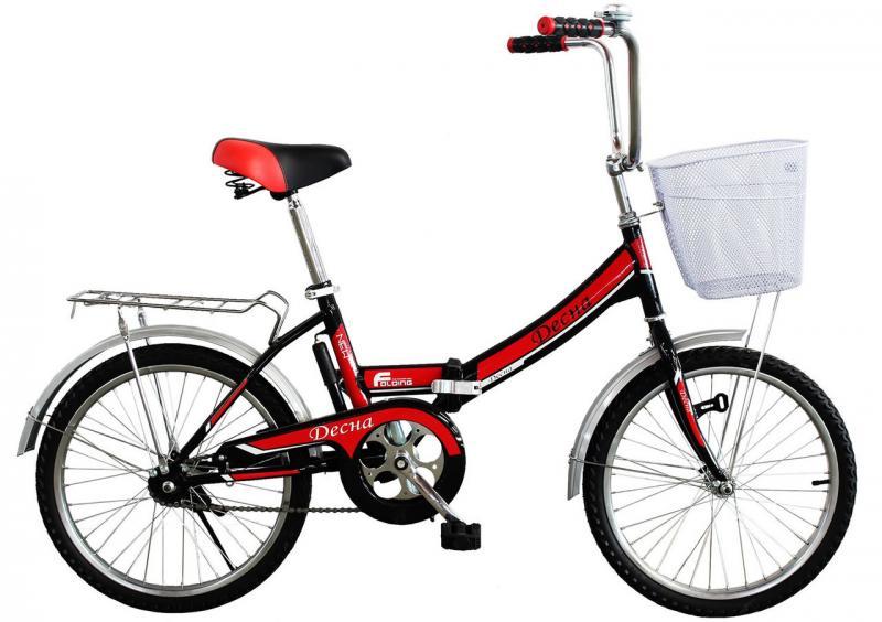"""Городской велосипед Titan Десна 20"""" Red"""