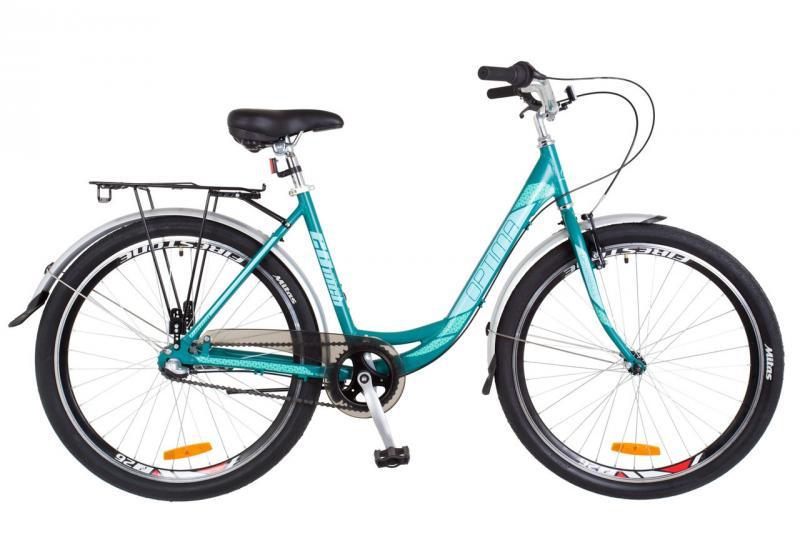 """Городской велосипед 26"""" Optimabikes VISION PH 2018 (бело-розовый с голубым (м))"""