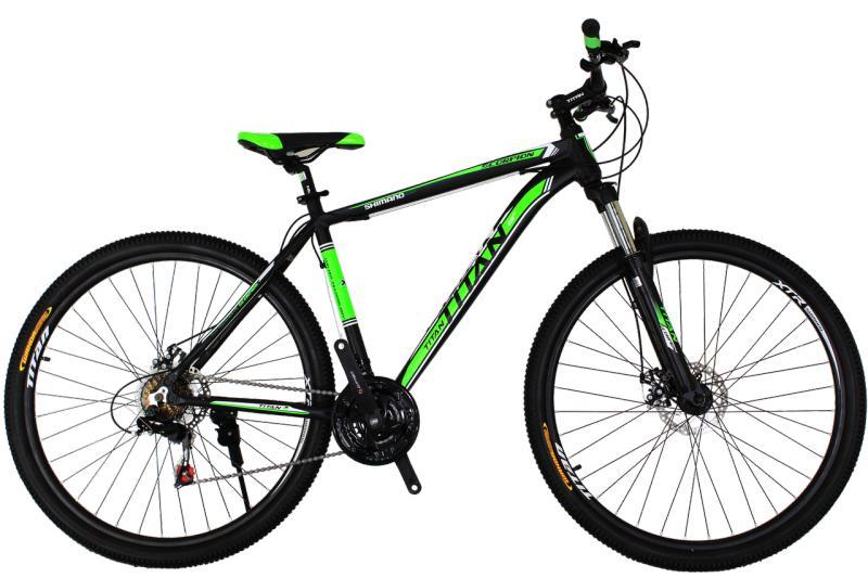 "Горный велосипед Titan Scorpion 29"" Black-Green-White"