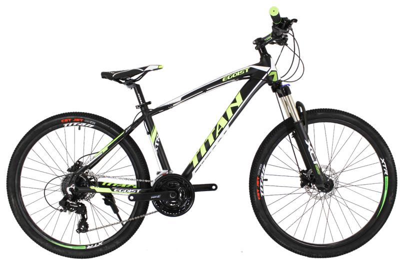 "Горный велосипед Titan Egoist 26"" Black-Yellow-White"
