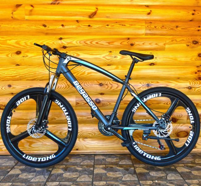 Велосипед на литых дисках Beggasso Grey