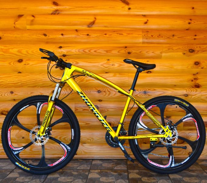 Велосипед на литых дисках Jaguar Gold