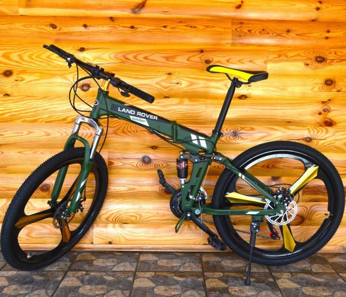 Велосипед на литых дисках Land Rover Green Алюминий