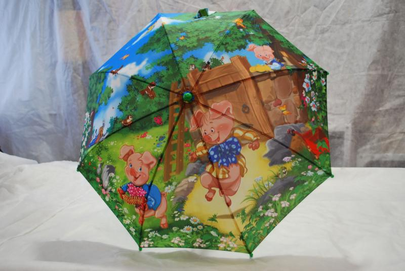 Зонт детский Zest 21565-4 Три поросенка
