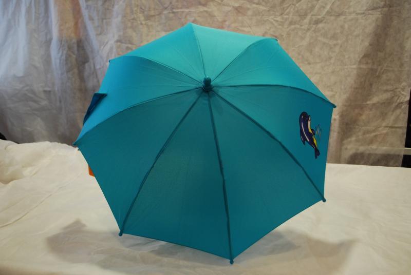 Зонт детский однотонный, Airton трость