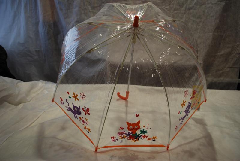 Зонт детский прозрачный Zest 51510-1 ПВХ грибок