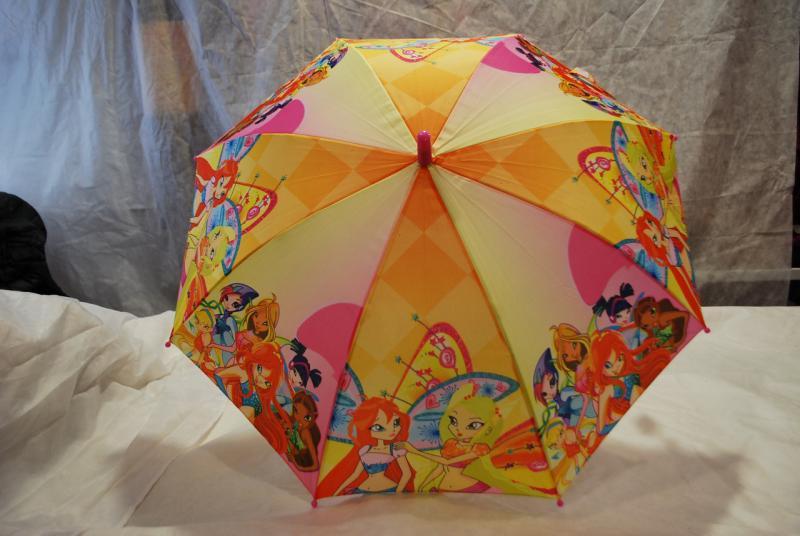 Зонт детский Winx, трость wx-2-1