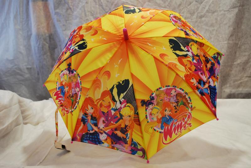 Зонт детский Winx, трость wx-2-5