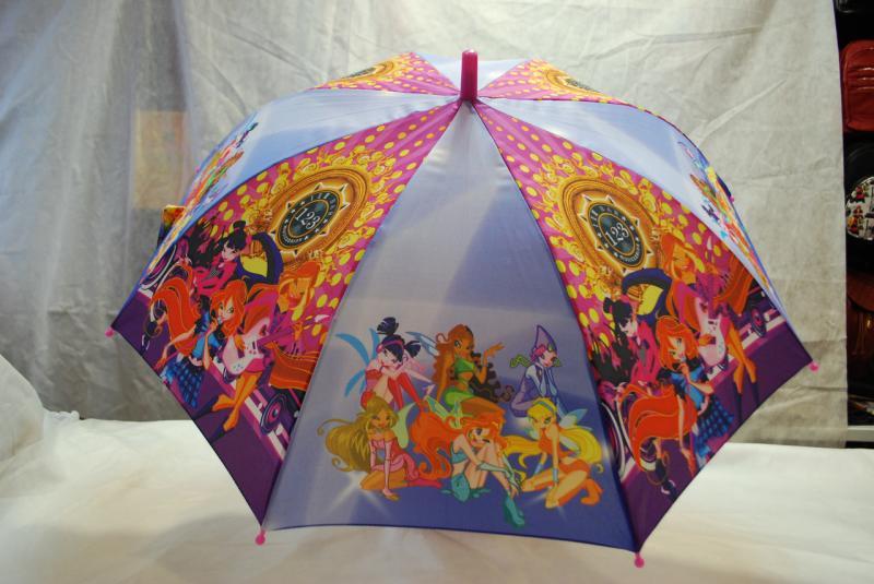 Зонт детский Winx, трость wx-2-8