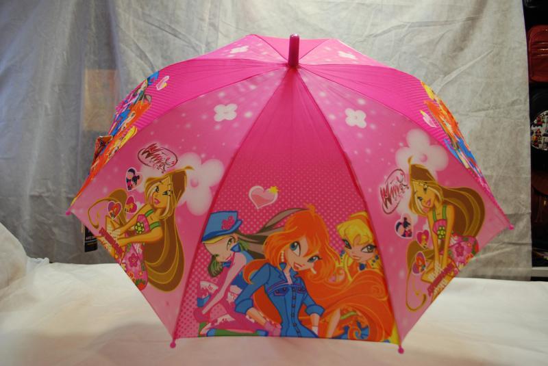 Зонт детский Winx, трость wx-2-9