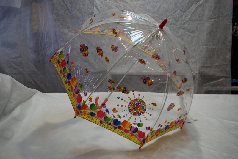 Зонт детский прозрачный Zest 51510-5 ПВХ грибок