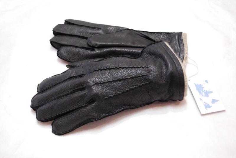 Перчатки кожаные мужские Kasablanka(Олень)