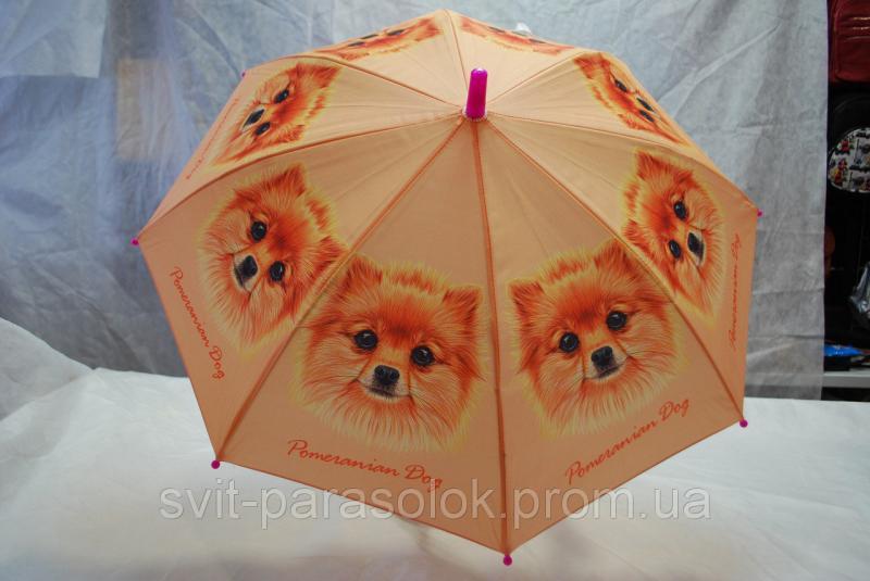 Зонт детский Три слона, трость