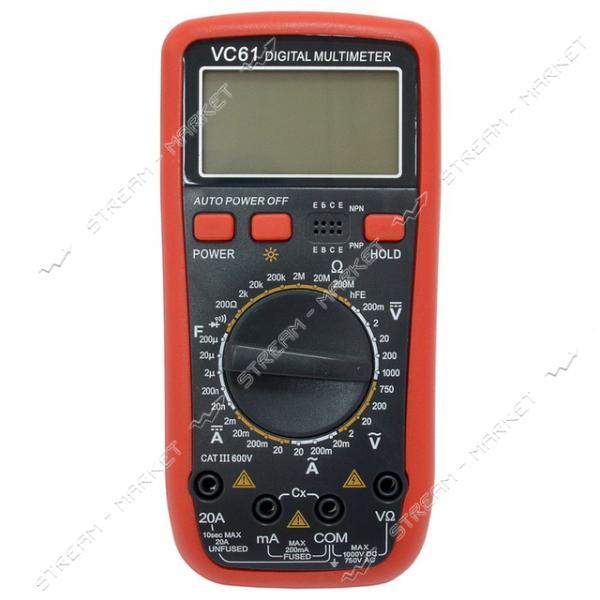 Мультиметр 61 VC