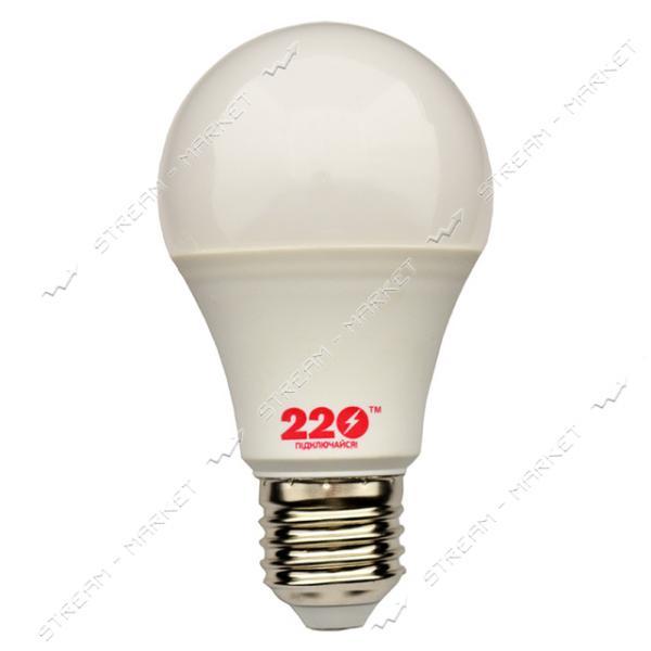 Лампа светодиодная 220 А60 7W 3000К Е27