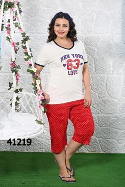 Комплект женский футболка и бриджи SEXEN