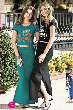 Комплект футболка и юбка  LOLITAM