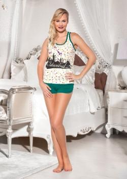 Женский комплект футболка и шорты LADY TEXILE